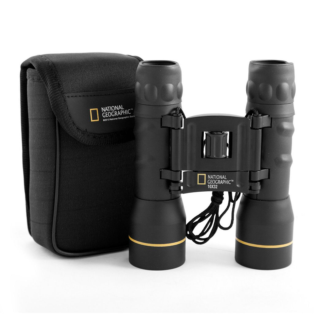 National Geographic 10x32mm Foldable Roof Prism Binoculars