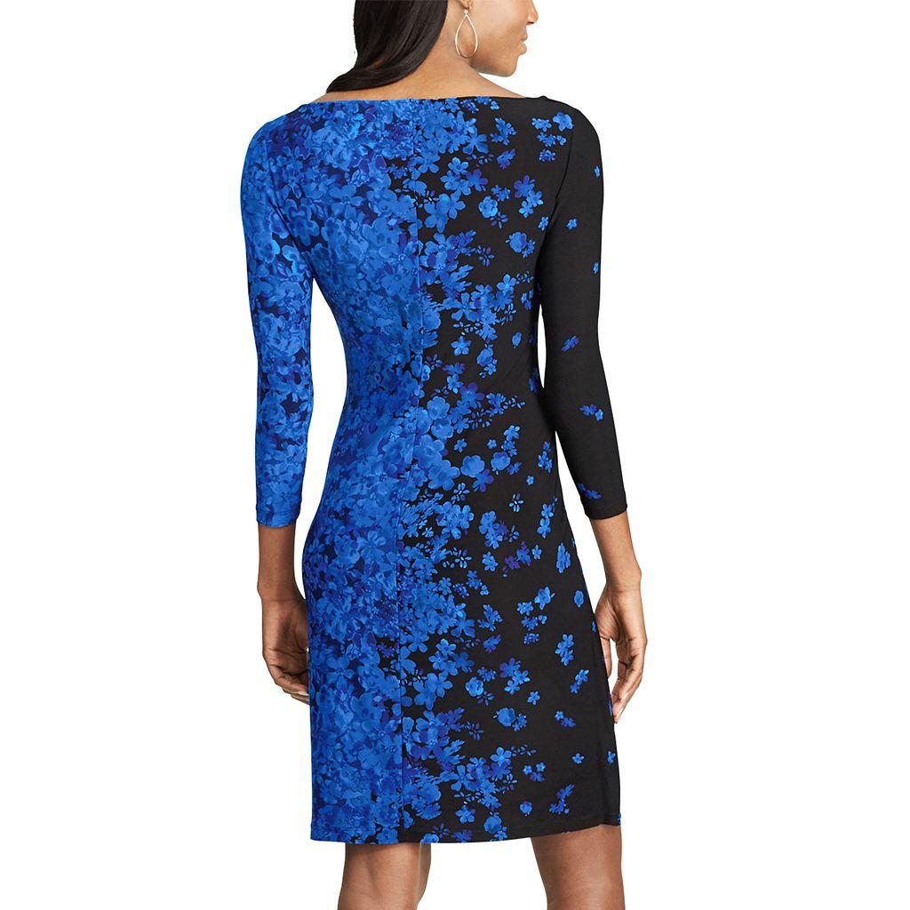 Women's Chaps Pleated Sheath Dress