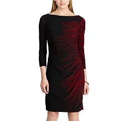 Women's Chaps Pleated Sheath Dress