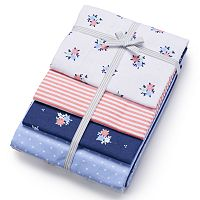 Baby Carter's 4-pk. Print Receiving Blankets