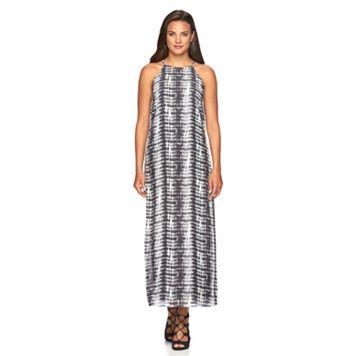 Women's MSK Tie-Dye Halter Dress