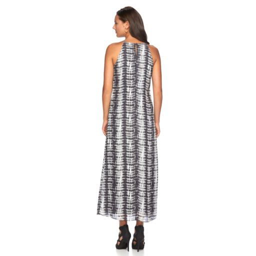 Women's MSK Tie-Dye Halter Dress
