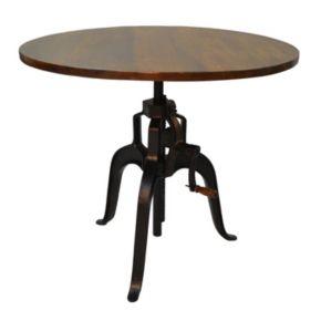 Carolina Forge Bently Crank Dining Table