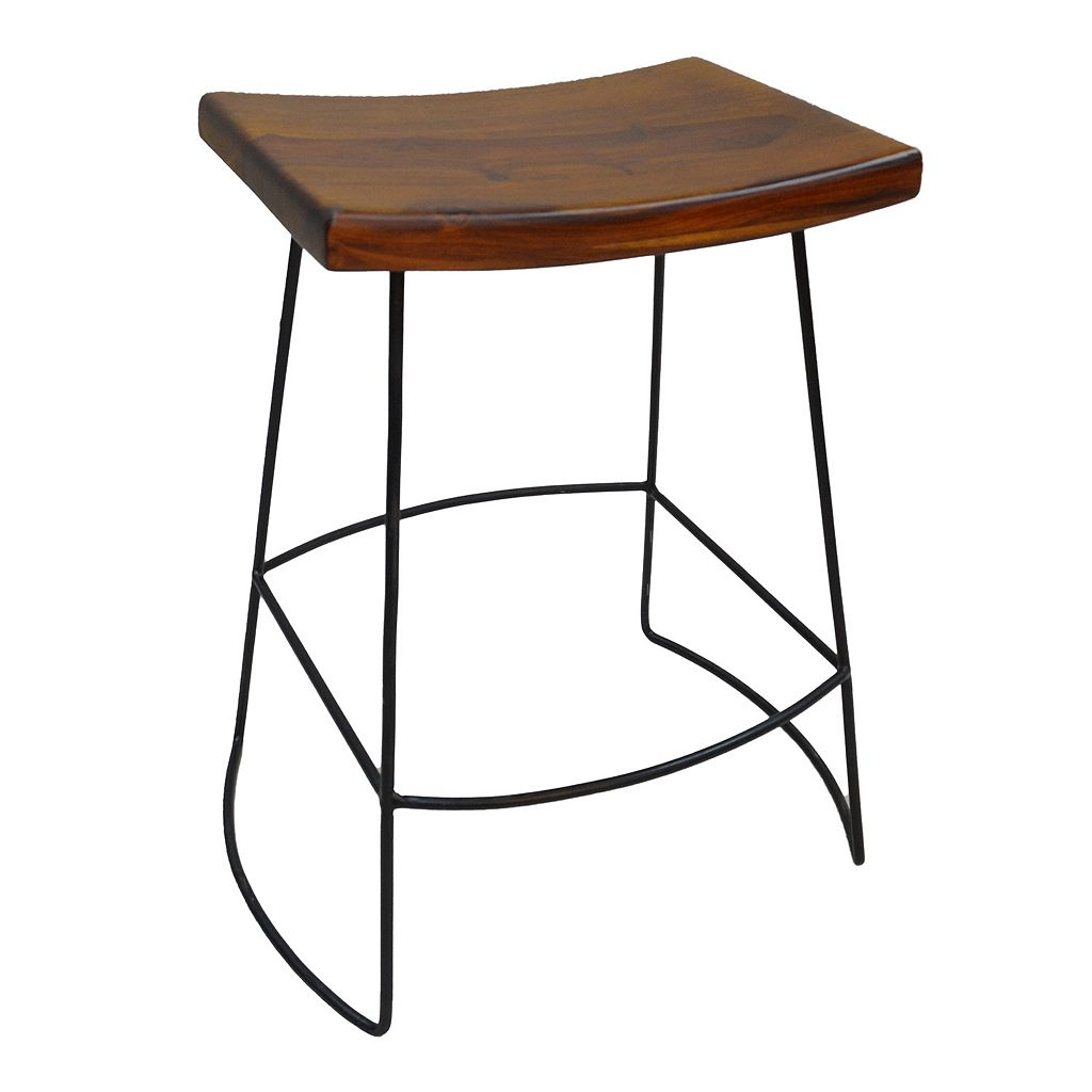 Carolina Forge Reece Counter Stool