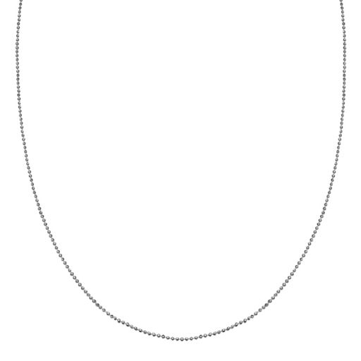 PRIMROSE Sterling Silver Bead Chain Necklace - 20 in.