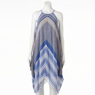 Women's MSK Print Halter Dress