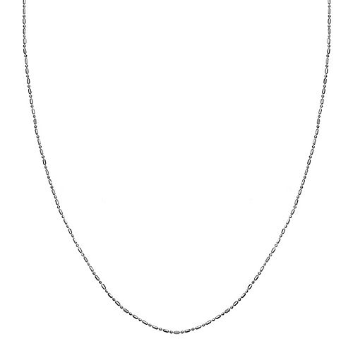PRIMROSE Sterling Silver Popcorn Chain Necklace - 18 in.