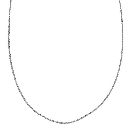 PRIMROSE Sterling Silver Sparkle Chain Necklace - 24 in.