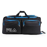 FILA Large Rolling Duffel Bag