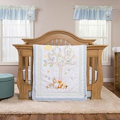 Trend Lab Forest Tales 6 pc Crib Bedding Set