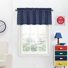 eclipse Tiny Thermaweave Blackout Window Valance