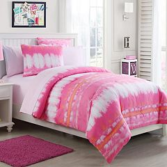 VCNY Pink Lemonade Tie-Dye Bedding Set