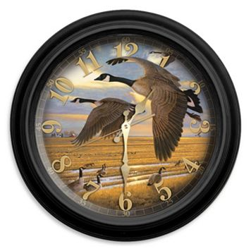 Reflective Art Honkers Wall Clock