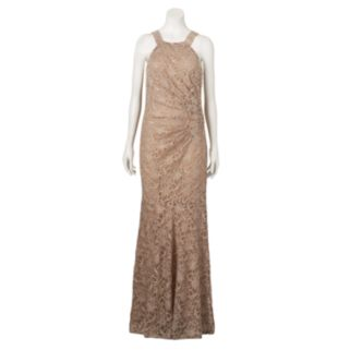 Women's 1 by 8 Glitter Lace Evening Gown