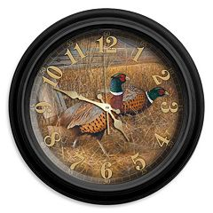 Reflective Art Fenceline Refuge Wall Clock