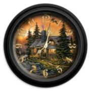 Reflective Art Prime Time Wall Clock