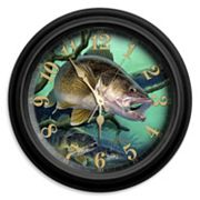 Reflective Art Deep Trouble Wall Clock