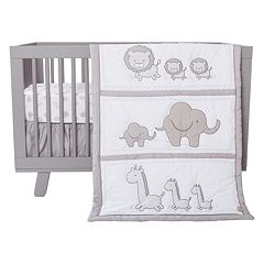 Trend Lab Safari Chevron 3 pc Crib Bedding Set