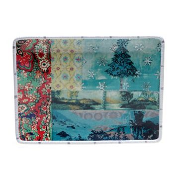 Tracy Porter Folklore Holiday Rectangular Serving Platter
