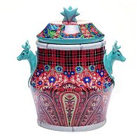 Tracy Porter Folklore Holiday Cookie Jar