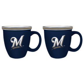 Boelter Milwaukee Brewers Bistro Mug Set