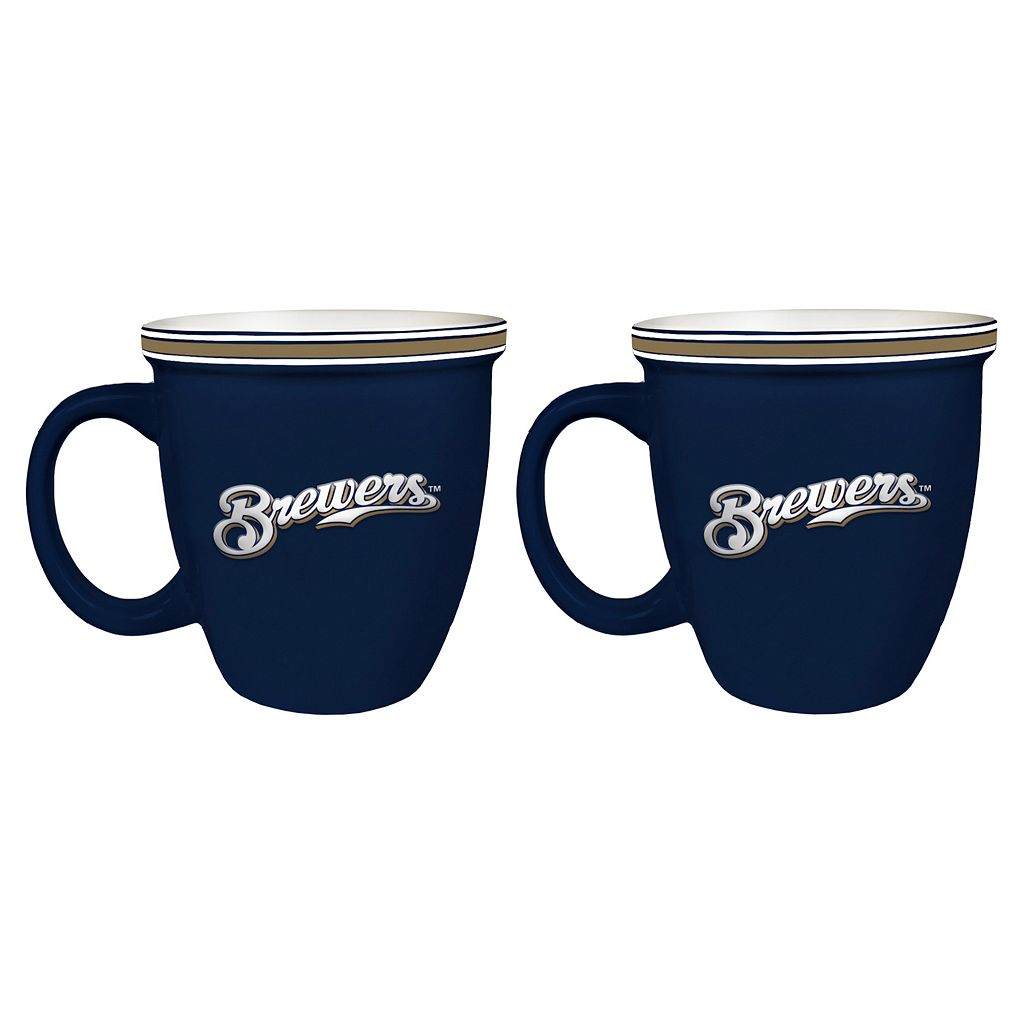 Boelter Milwaukee Brewers Bistro Mug Set