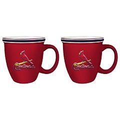 Boelter St. Louis Cardinals Bistro Mug Set