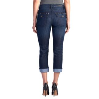 Women's Rock & Republic® Kendall Studded Capri Jeans