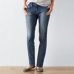 Petite SONOMA Goods for Life™ Sky Skinny Jeans
