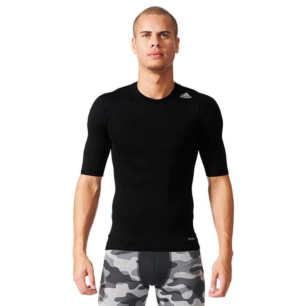 Men's adidas Techfit Base Layer Tee