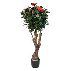 Navarro 48' Flowered Hibiscus Artificial Tree