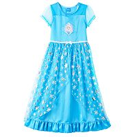 Disney's Frozen Elsa Girls 4-10 Fantasy Nightgown