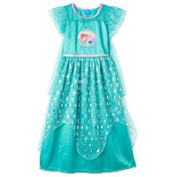 Disney's Frozen Elsa & Anna Girls 4-10 Fantasy Nightgown
