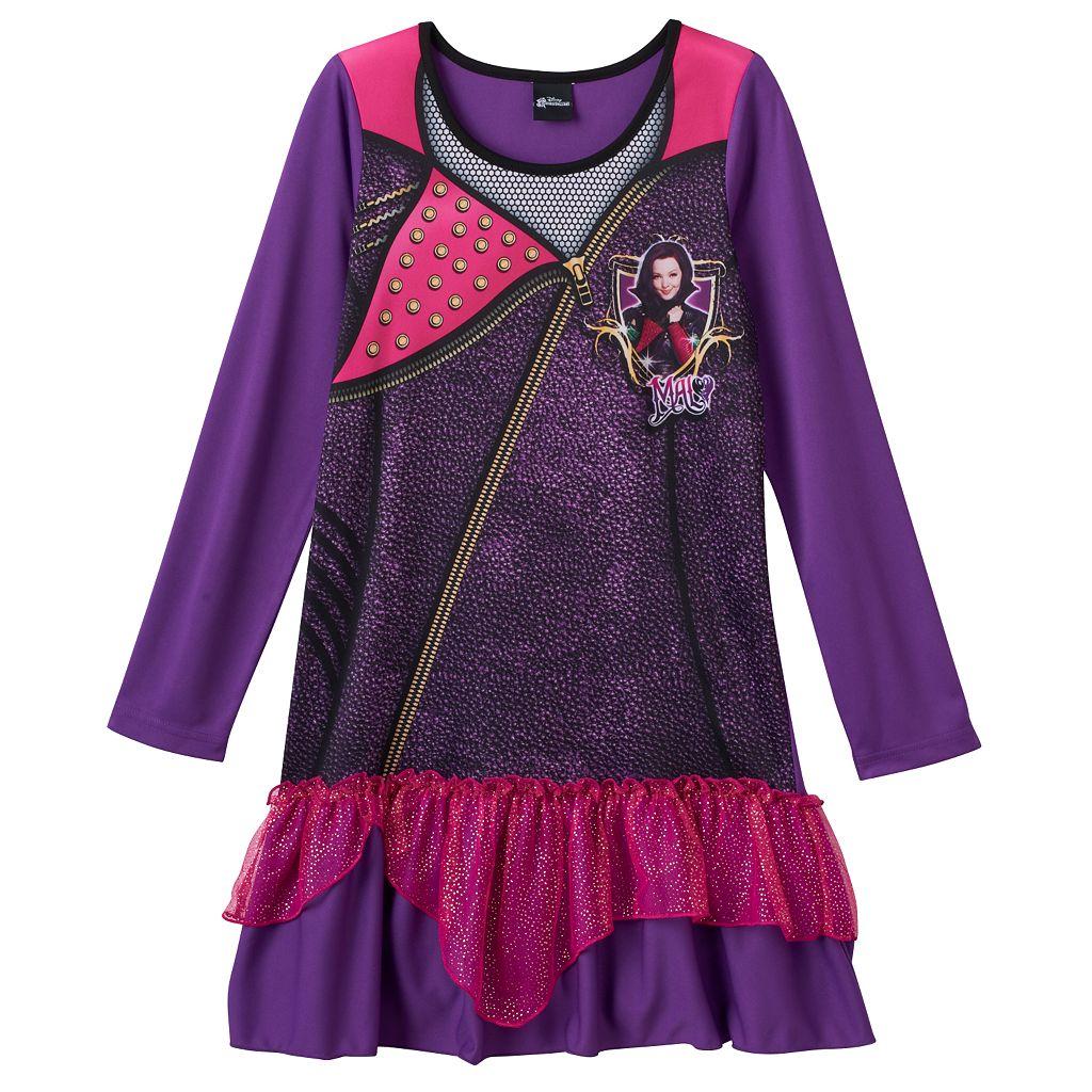 Disney's Descendants Mal Girls 6-12 Dorm Nightgown