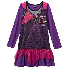 Disney's Descendants Mal Girls 6-12 Dorm Nightgown