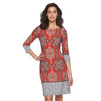 Women's Suite 7 Medallion Shift Dress