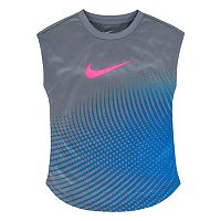 Girls 4-6x Nike Dri-FIT Dotted Tee