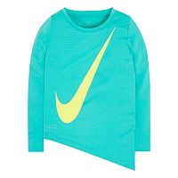 Girls 4-6x Nike Dri-FIT Asymmetrical Tee