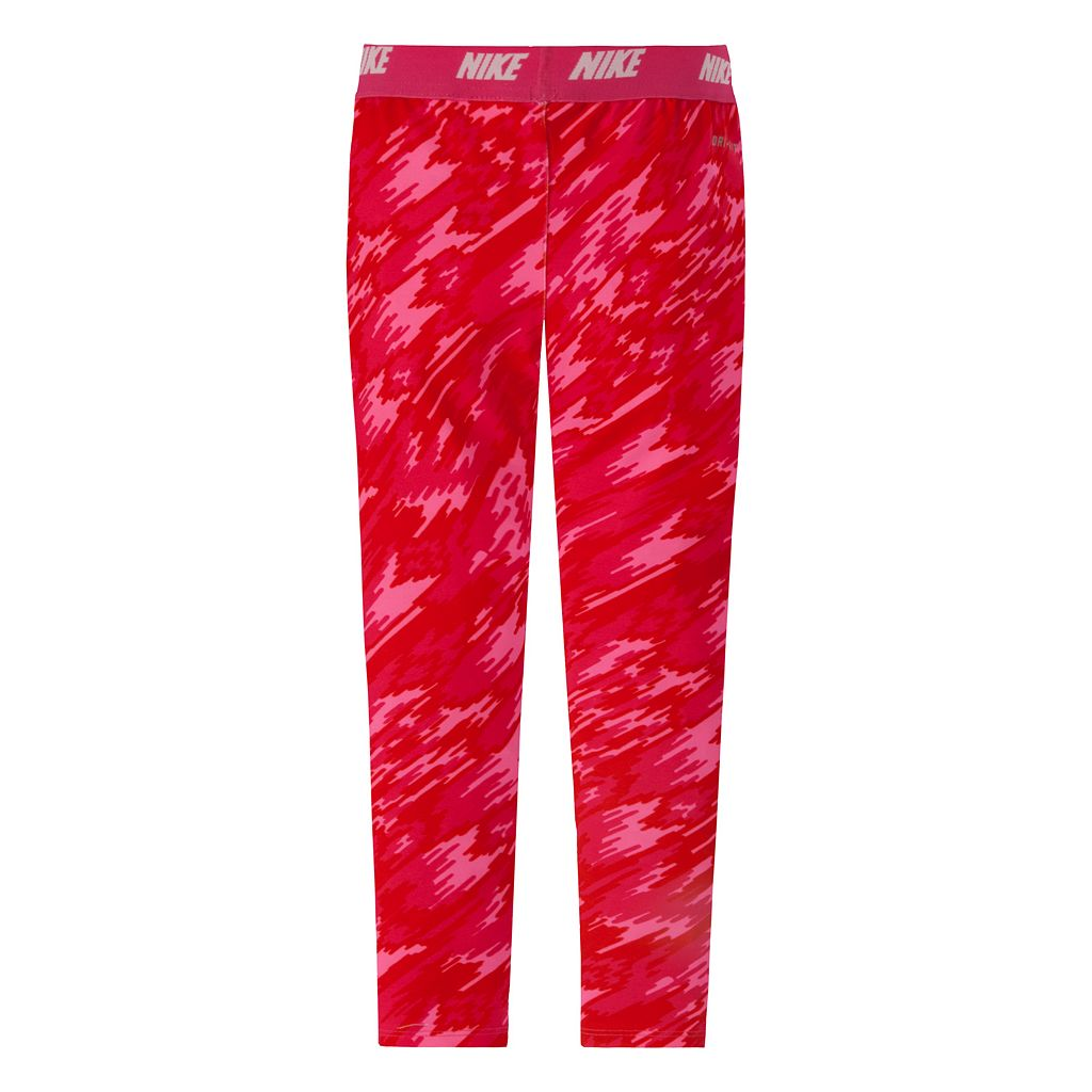 Girls 4-6x Nike Dri-FIT Printed Performance Leggings