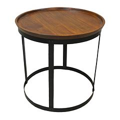 Carolina Forge Park End Table