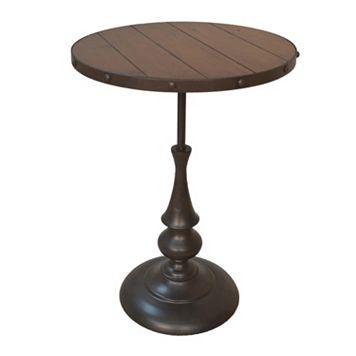 Carolina Forge Claton End Table