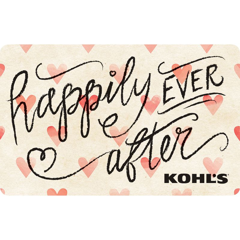 Happily Ever After Gift Card, $25 Once upon a time, this Kohl's Gift Card* was given to a loved one and they shopped happily ever after.To make a purchase with the card, just visit any Kohl's Department Store and present your card at the time of purchase. Or, use the card as payment during online checkout at Kohls.com. It works the same as cash, and the remaining balance stays on the card until it's used up. Discounts not available on gift cards. *This card is redeemable for merchandise at any Kohl's store or online at Kohls.com. This card is issued by and represents an obligation of Kohl's Value Services, Inc. Except where required by law, this card is non-refundable, may not be redeemed for cash or for the purchase of Gift Cards and cannot be applied to any Kohl's Charge account balance. This card has no expiration date. The unused value of lost, stolen or damaged cards can be replaced with required proof of purchase. See store for details. Receipts for purchases made with this card will show the remaining card balance. Card balance may also be obtained from a Kohl's Sales Associate, calling 1-800-655-0554 or online at Kohls.com Do not mail cards to the Kohl's Payment Center. 11/10 Size: $25. Color: Multicolor. Gender: unisex. Age Group: adult.