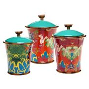 Tracy Porter Magpie 3 pc Ceramic Canister Set