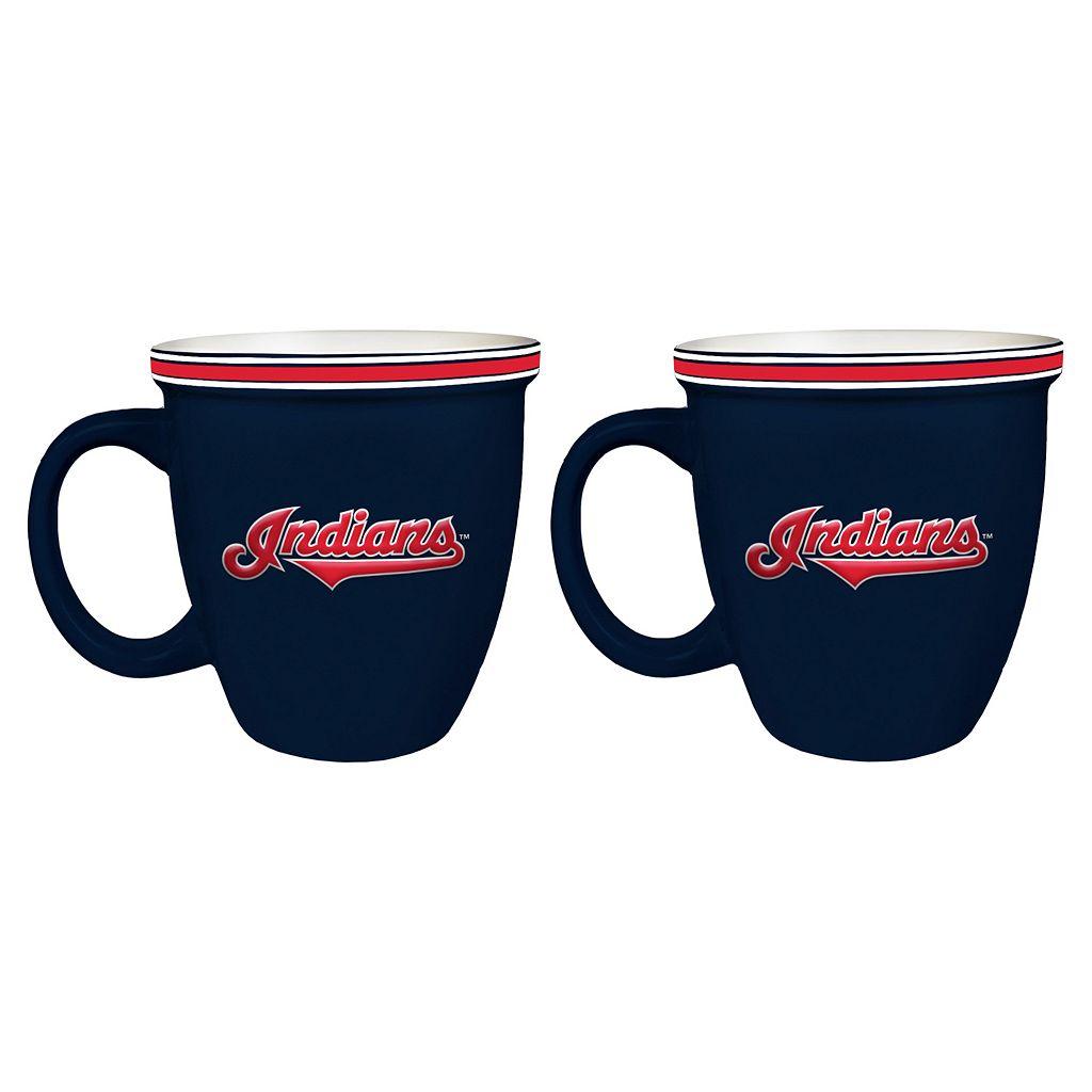 Boelter Cleveland Indians Bistro Mug Set