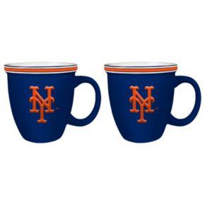 Boelter New York Mets Bistro Mug Set