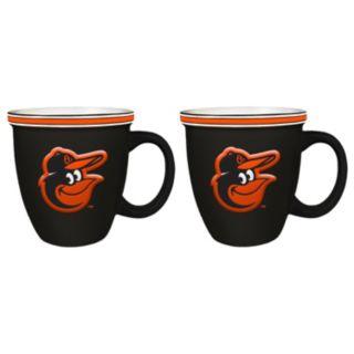 Boelter Baltimore Orioles Bistro Mug Set