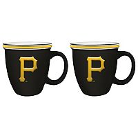 Boelter Pittsburgh Pirates Bistro Mug Set
