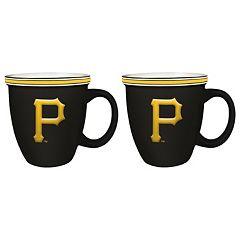 Boelter Pittsburgh Pirates Bistro Mug Set