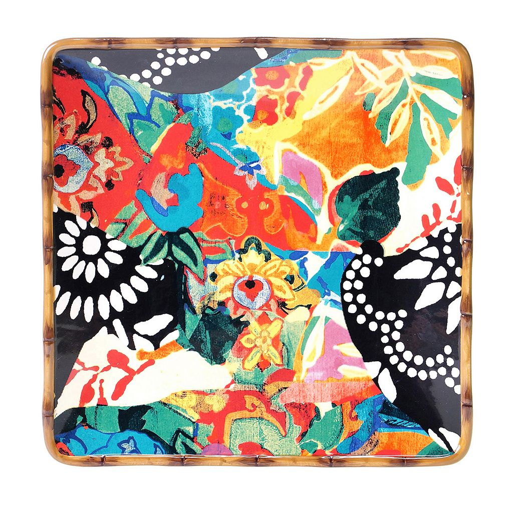 Tracy Porter Magpie Square Serving Platter