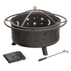 Navarro 30' Stars & Moon Fire Pit